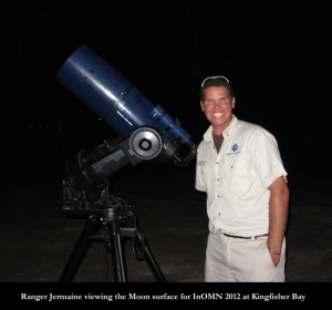 Ranger Jermaine is a keen astronomer